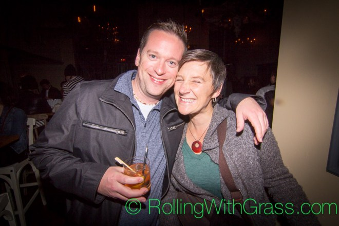 Mark and Kate at Fainting Goat Halloween Grass DC 2014