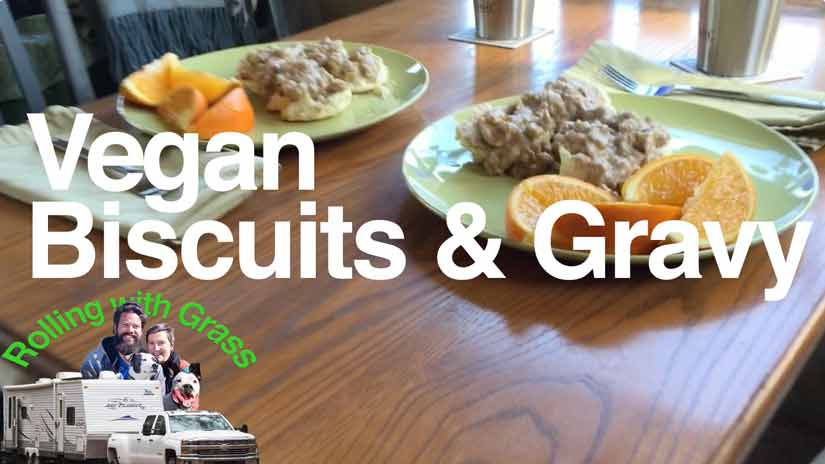 Vegan Biscuits and Gravy by Kate Grass