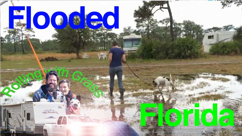Flooded in Florida at Three Lakes WMA Campground