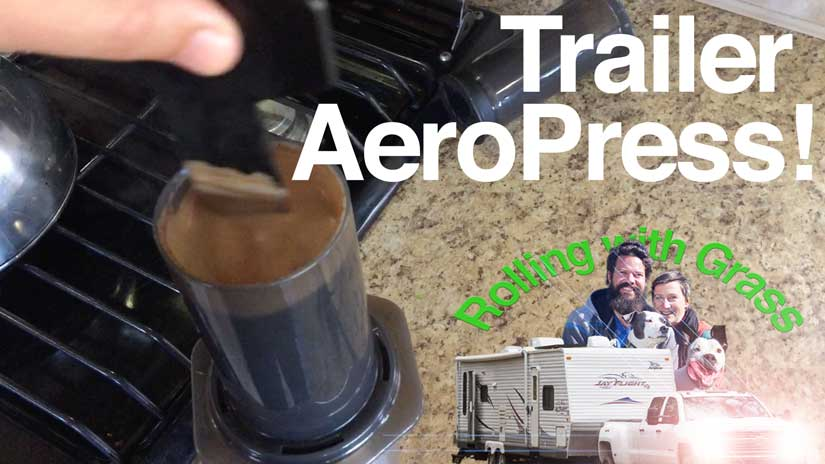 aeropress instructions for fulltime rving coffee without electricity