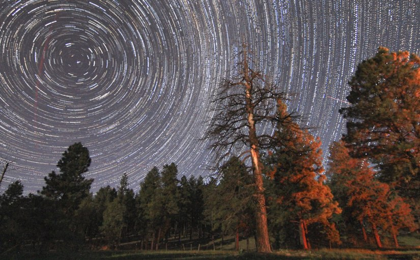 Star Trails above Flagstaff