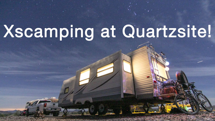 Video: Xscamping in Quartzsite