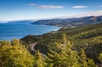 Cabot Trail, heading towards Ingonish