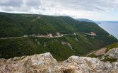 Cabot Trail, as seen from Skyline Trail