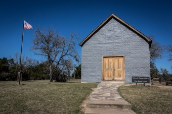 LBJ's 1st schoolhouse and the location where he signed the Elementary and Secondary Education Act