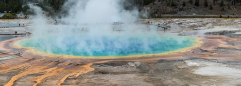 Yellowstone- Grand Prismatic Spring - 0137