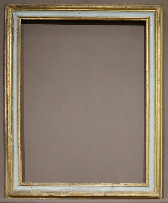 """20/"""" X 24/"""" STANDARD PICTURE FRAME 2 1//4/"""" WIDE GOLD LEAF /& BLACK REVERSE PANEL"""