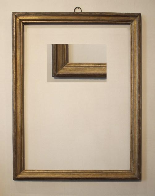 """LXVI mouldling frame, 22 3/4 x 16 1/2"""" (57.5 x 42 cms)"""