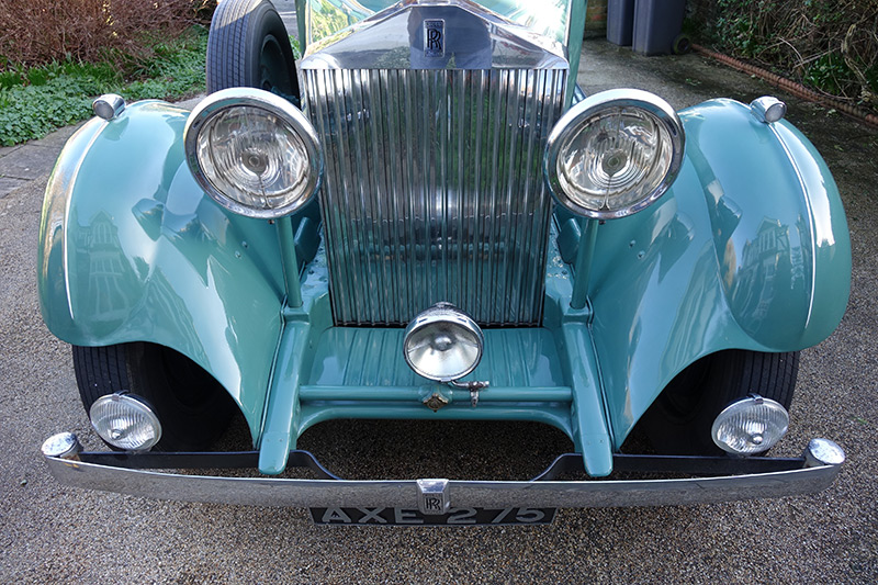 Green Rolls-Royce Worthing