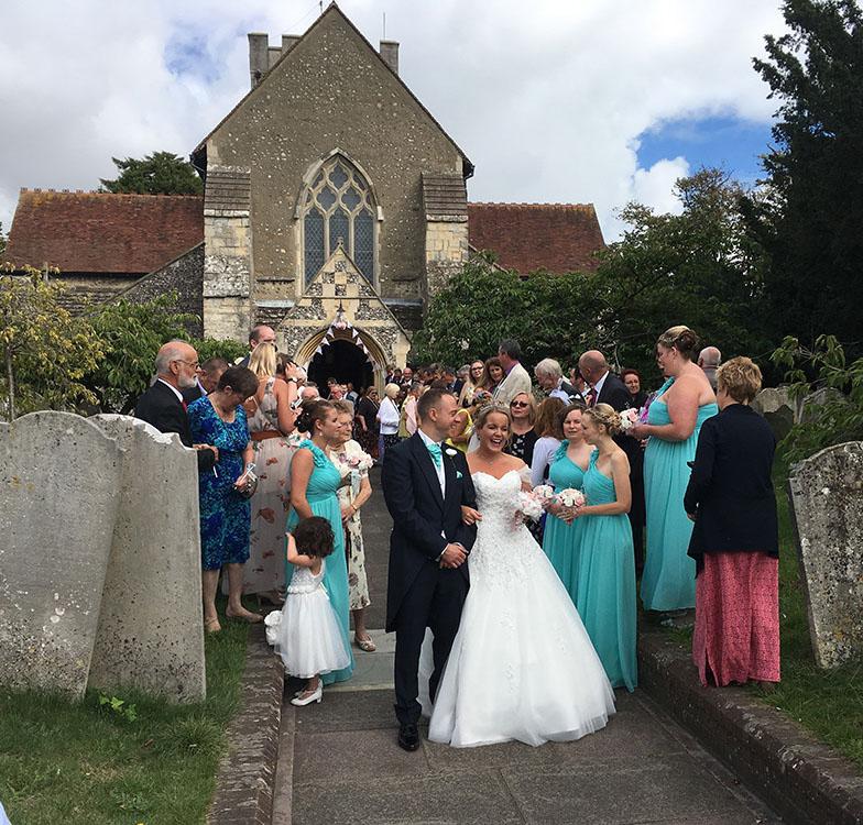 Married! Rolls-Royce Wedding