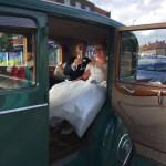 Cheers! Rolls-Royce Wedding