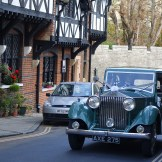 Outside Arundel Town Hall © Rolls-Royce Wedding