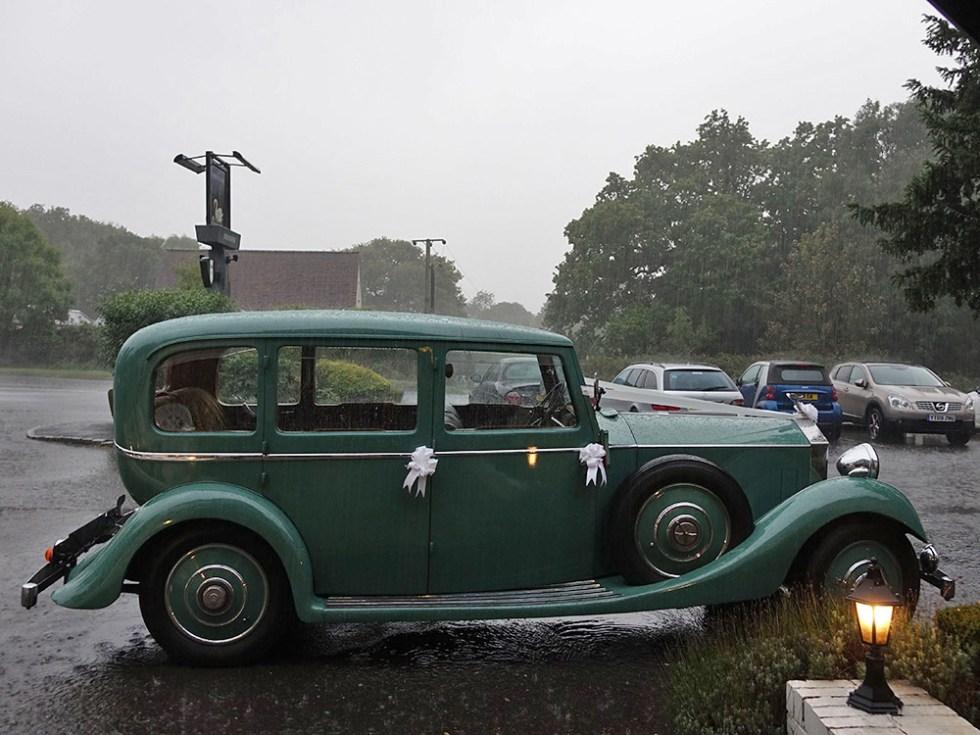 Rolls-Royce Rain! © Rolls-Royce Wedding