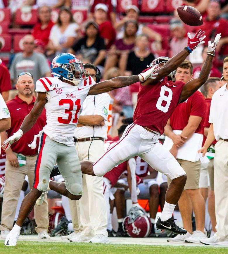 Alabama player snapshot: No. 8 John Metchie III