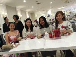 From left: Jacinta, Me, Marini & Elana