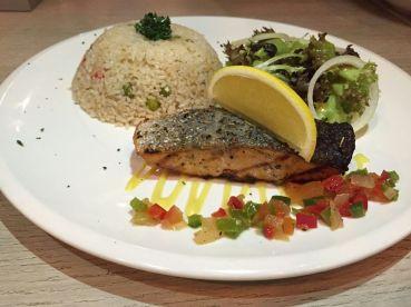 Card Café Rice with Crispy Salmon (RM24.90)