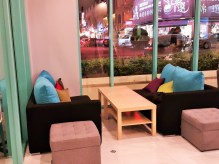 Comfy lounge area - Paradiso Cafe & Patisserie