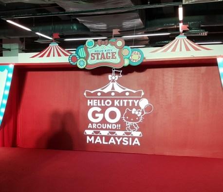 Stage at HKGA