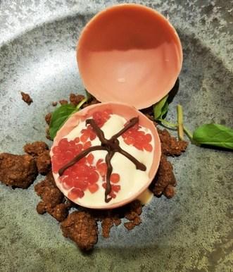 Magnum Pink - Pomegranate Caviar in Belgian Chocolate