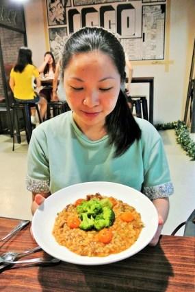 Me at Iggo Cafe