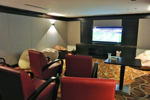 Built In Home Theatre Room - Living Space, Pullman KLCC