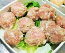 Handmade pork ball - Restaurant Wong Dynasty