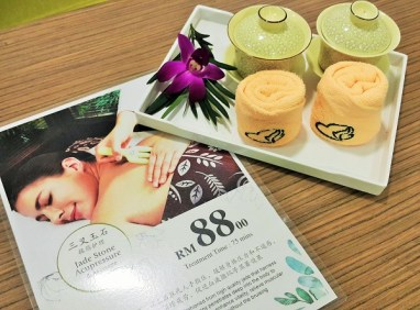 Herbaline Spa Package