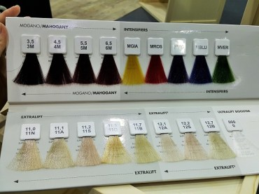 Davines color range 1