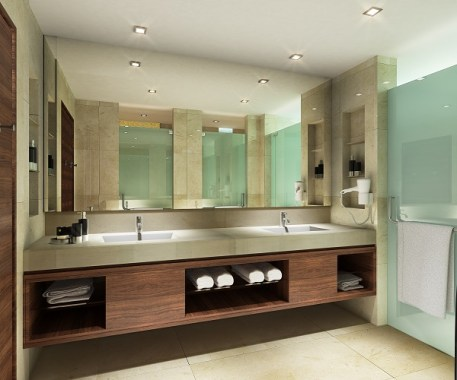 Family Suite Bathroom - Sunway Pyramid Hotel East