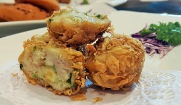 Crispy Scallop Ball Cheese Dumpling