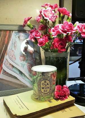 Diptyque Rosa Mundi Collection A Love Affair Between