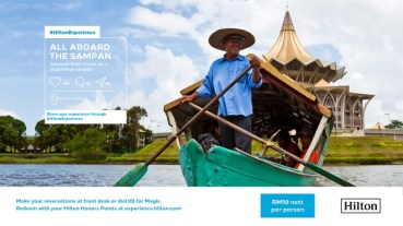 Hilton Kuching_Sampan River Cruise Experience