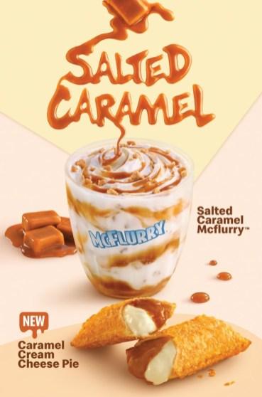 McD Salted Caramel McFlurry