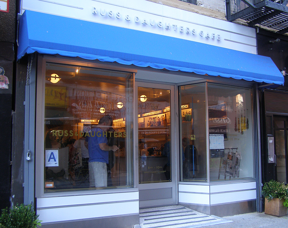 Russ and Daughters Cafe