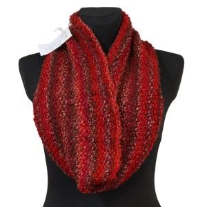 Komin czerwony – miękki i ciepły KOCZM008
