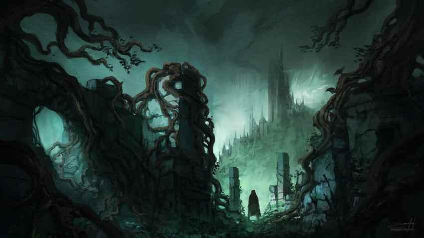 Generar una atmósfera sombría se origina con los principios de nuestro mundo de ficción