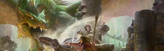 El mítico Dungeons and Dragons siempre es uno de los mejores juegos de rol para iniciarse.