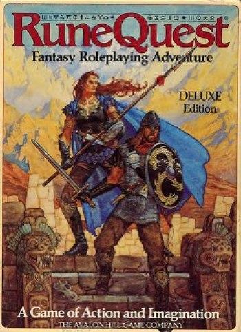 Los juegos de rol en los años 70 RuneQuest