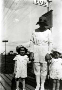 Evjeplattformen 1933