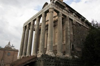 Tempel des Antoninus Pius und der Faustina