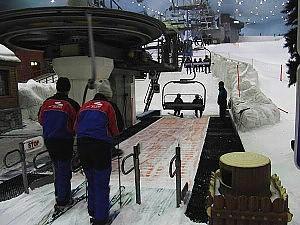 A Ostia neve artificiale e seggiovia Alemanno: solo un impianto di minigolf