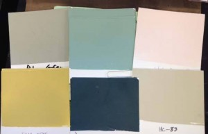 HH swatches