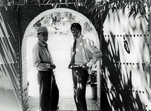 Pierre Bergé und Yves Saint Laurent