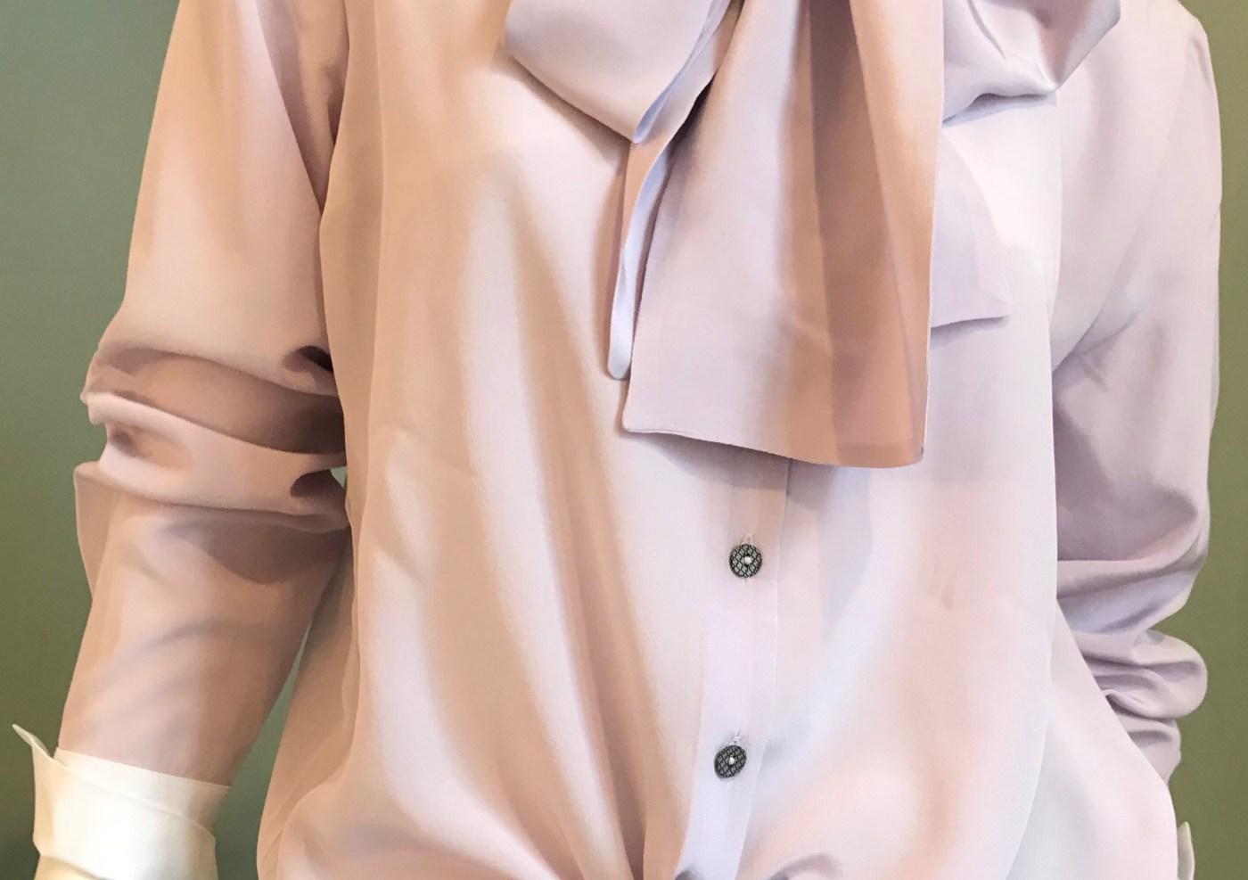 Flieder Bluse