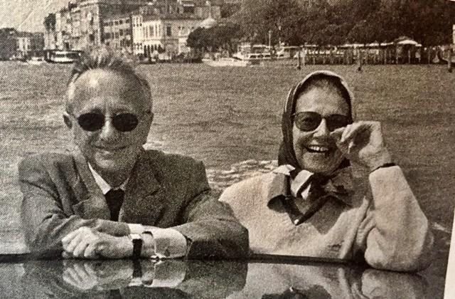 Louis Begley und Anka Mühlstein