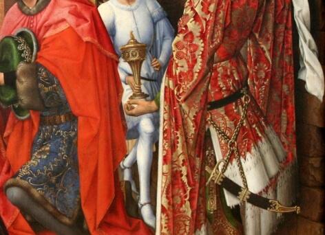 Columba Altar Details