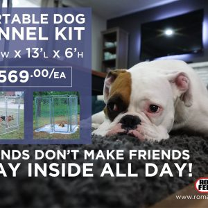 portable dog kennel kits