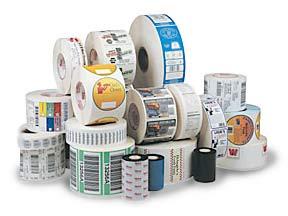 etichete adezive in rola