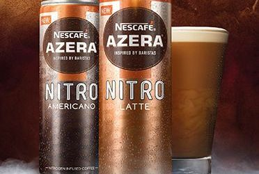 Nescafé în cutii cu conținut de azot