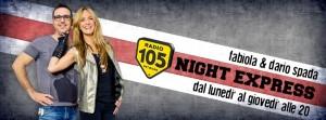 Con Dario Spada e Fabiola Casa'. 105 Night Express